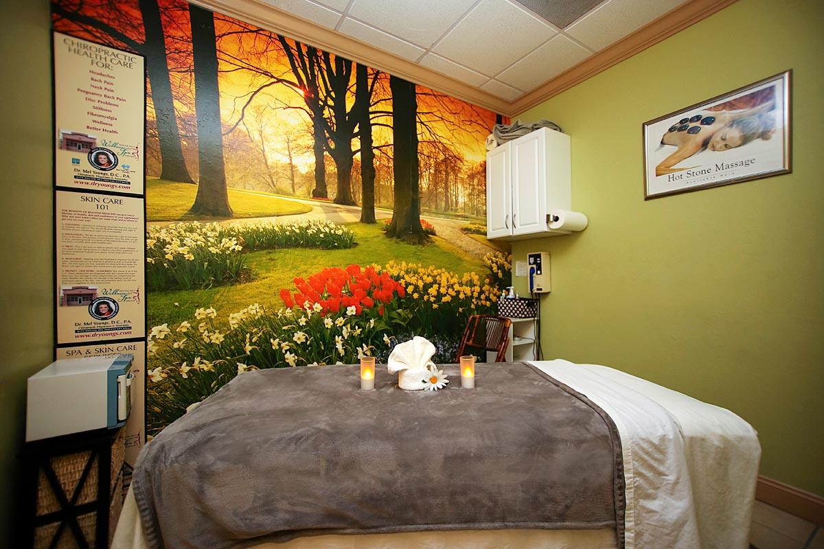 Massages rooms