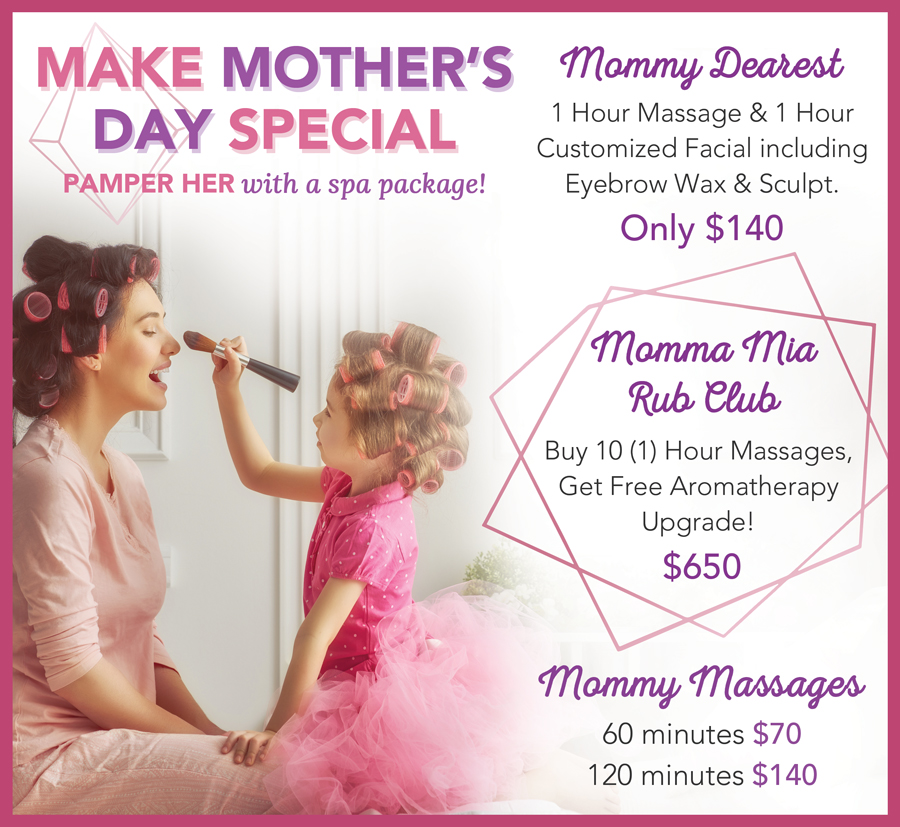 Mother's Day Spa Specials 2021