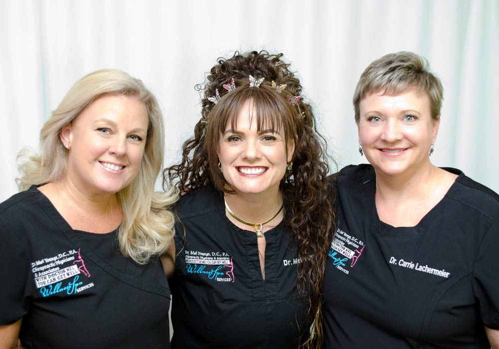 Dr. Youngs Chiropractic Adjustment Team